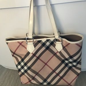 Large classic Burberry tote from Nordstrom
